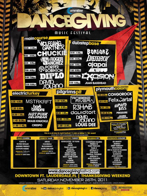 Dancegiving Music Festival